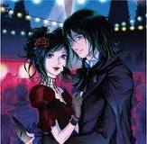 lets see mine would have to b Raven Madison and Alexander Sterling from the Vampire Kisses series
