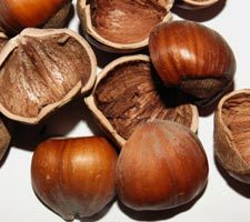 The color of hazelnuts, I guess.