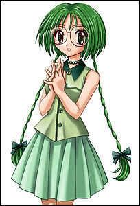 mew mew powers lettuce!!she has epic hair!11