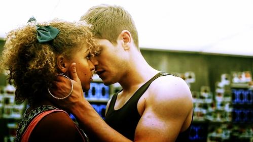 Simon and Alisha from Misfits.
