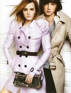 Emma Watson & George Craig....Burberry