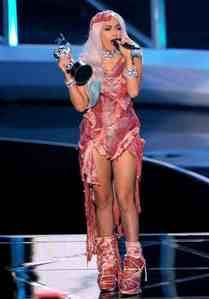 """What do toi think of Lady GaGa's """"Meat Dress""""?"""