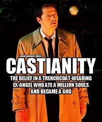 Yes. Well, technically I believe in Cas. (SPN inside joke)