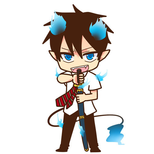 Mine is Rin Okumura from Ao no Exorcist!