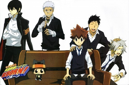 Katekyo Hitman Reborn! action and comedy. An awesome anime.