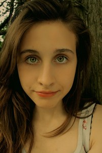 ellyse! with some make-up and contacts, she' would be perfect :)<3