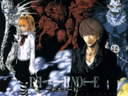 Death Note of course!<3<3<3 Light is my Избранное character! Awesome Манга and anime. Beautifully drawn as well!!