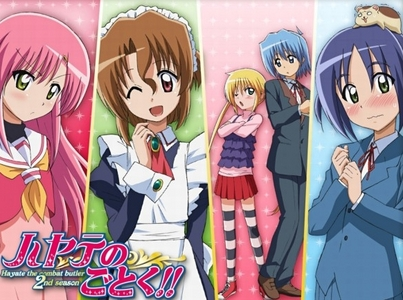 <b>Hmm,So Many..I could choose one again,but right now my Избранное Аниме (as of right now) just has to be Hayate No Gotoku!!:3</b>