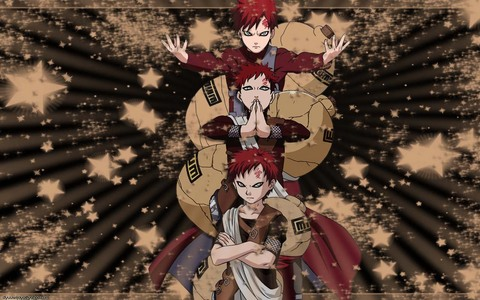 not at the moment, i am actually using a pic of Hiccup and Toothless from How to train your Dragon ATM, but i typically use this background of Gaara from Naruto.