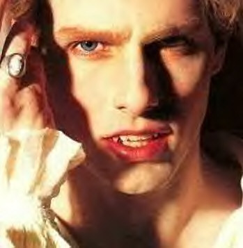 """Lestate the vampire. and i would say """"OMG, i think Ты are the best vampire ever! can Ты turn me now???"""""""