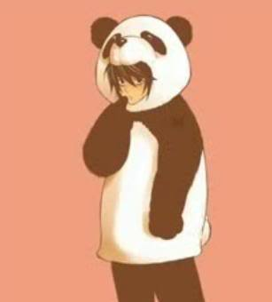 """why did mastuda say i look like a panda hmm?"""