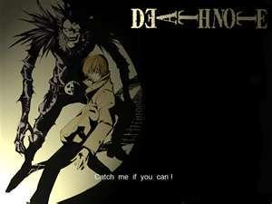 प्यार the pic (NOT MINE) an प्यार Death Note <3