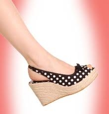 WEDGE HEELS!!! and All Stars! :)