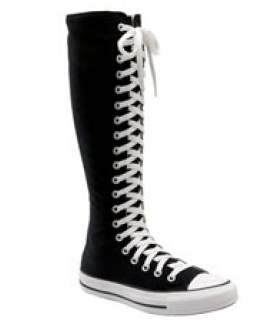 High-Top boots.