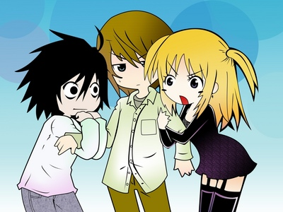 Anime network. (death note image)
