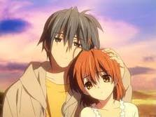 This is from the عملی حکمت Clannad After-Story. I love this. this is when Nagisa and Tomoya get engaged. Tomoya: Nagisa, lets get married. I've...been thinking... your the only one for me. ...I'm really pathetic... Nagisa: I am too! ...but if we're together, we an become strong. Tomoya: *hugs Nagisa and starts crying* Will آپ always be with me? Nagisa: *crying too* I'll always be with you, no matter what. (and then later in the series, she dies after giving birth to their daughter, Ushio. .....Ushio dies a few years after that....)