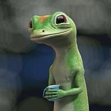 The Geico Gecko.