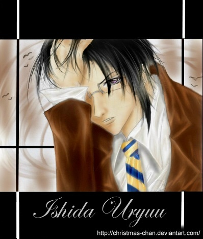 I would amor to marry Uryuu Ishida from Bleach....I just got a thing for smart guys!