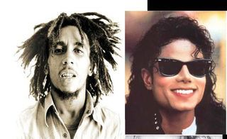michael jackson and bob marley :)
