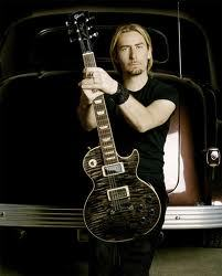Chad Kroeger of Nickelback <3