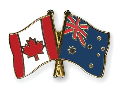 Canada and Australia