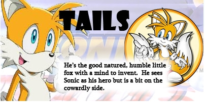 I'm Tails!!