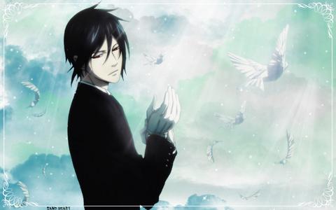 Sebastian from Black butler.