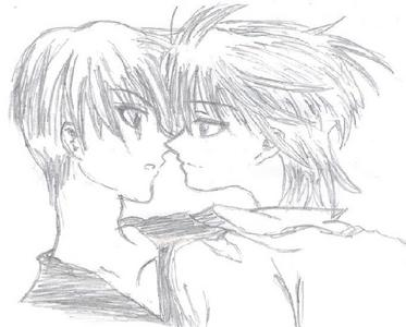 Yuri's okay... but Yaoi... the epic factor might just be lethal to me... especially some Yaoi's like THIS: