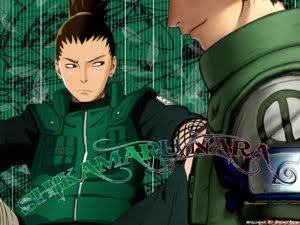 I have weird taste in men. I go for da nerds! I cinta anda shikamaru Nara!