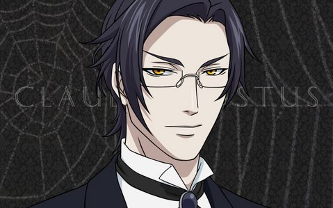 Someone already picked Sebastian,so I'm going with my detik choice! Claude Faustus!!! cinta his eyes. :3