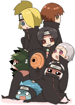Naruto! (the series, not the character) <333 یا if to be مزید specific...The Akatsuki :D