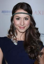 Troian Bellisario. She's on PLL and has been on NCIS, and the guy who plays McGee is her stepbrother. And her dad created it, I think. So I think she qualifies as a famous celebrity.