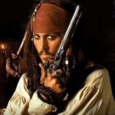 Captain Jack Sparrow baby!(♥‿♥) MDR