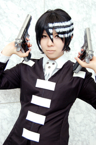 souleater death the kid :3 i think its cute