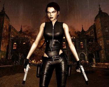 Lara Croft's Doppelganger.