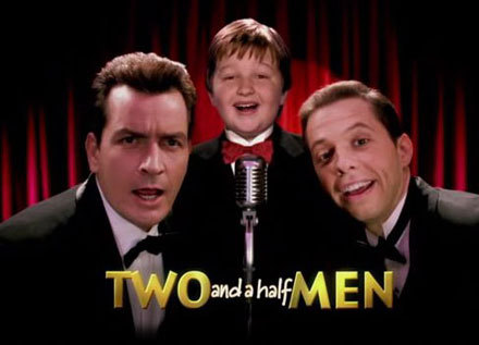 Two and a half men!