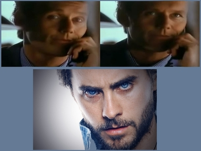 1. Anthony Head when he was younger 2. Jared Leto