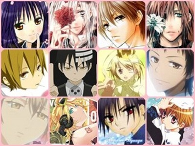 here's mine.. - Nagihiko Fujisaki [Shugo Chara!] - Allen Walker [D.Gray+man] - Usui Takumi [KWMS] - Lavi [D.Gray+man] - Kida Masaomi [Durarara!] - Death the Kid [soul Eater] - Tadase Hotori [Shugo Chara!] - Hinata Shintani [KWMS] - Kei Takishima [Special A] - Len Kagamine [Vocaloid] - Natsume Hyuuga [Gakuen Alice] - Loki [Metantei Loki Ragnarok] many many more... and it is many to mention.. ^^