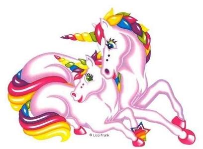 toi could draw pretty unicorns! :D