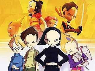 yup, James, Ulric, Odd, Yumi and Athena.