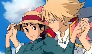 """Howl and Sophie from """"Howl's Movie Castle"""""""
