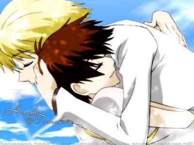 Haruhi and Tamaki<3 (OHSHC)