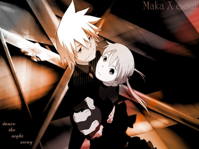 Here is my!! Maka and Soul from Soul Eater!!