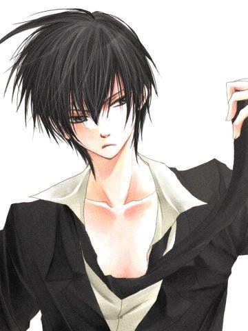 anime boy black hair. CONTEST best looking anime guy