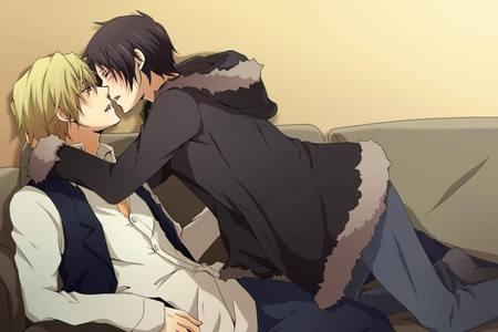 Shizuo and Izaya..<3