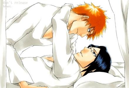 Ichigo & Uryuu I tình yêu this couple:)!