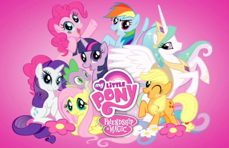 Ponies and horses. Especially the ponies from My Little Pony!