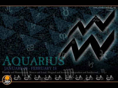 My bday is on February 1 and I'm an Aquarius. :)
