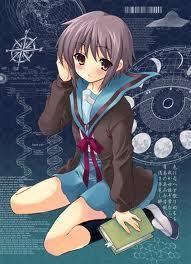 Here is Nagato Yuki from Haruhi Suzumiya :)