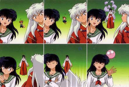 hope u like! ^_^ its inuyasha! well him and kagome and shippo who looked like kikyo for a sec